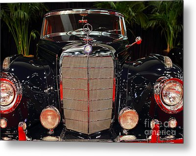 1956 Mercedes-benz 400 Sc . 7d9177 Metal Print by Wingsdomain Art and Photography