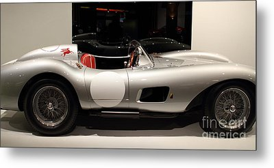 1957 Ferrari Testa Rossa- 7d17217 Metal Print by Wingsdomain Art and Photography