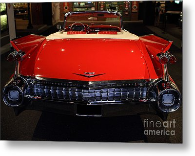 1959 Cadillac Convertible - 7d17377 Metal Print by Wingsdomain Art and Photography