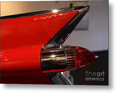 1959 Cadillac Convertible - 7d17386 Metal Print by Wingsdomain Art and Photography