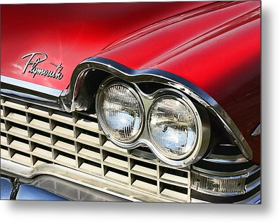 1959 Plymouth Sport Fury  Metal Print