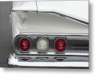 1960 Chevrolet Impala Tail Lights Metal Print by Jill Reger