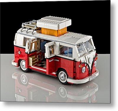1962 Vw Lego Bus Metal Print by Noah Katz