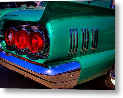 1966 Ford Thunderbird Metal Print by David Patterson
