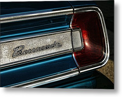 1967 Plymouth Barracuda Metal Print by Gordon Dean II