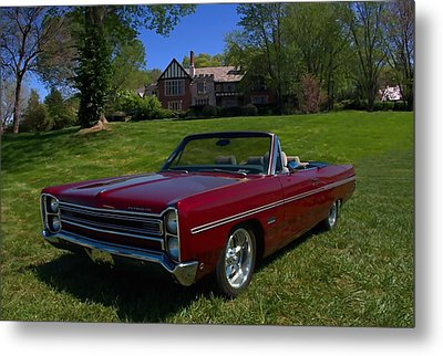 1967 Plymouth Fury IIi Convertible Metal Print