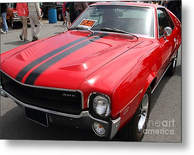 1968 Amx 7d15141 Metal Print by Wingsdomain Art and Photography