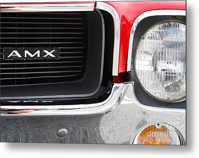1968 Amx 7d15142 Metal Print by Wingsdomain Art and Photography
