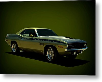 1970 Plymouth Aar Barracuda 340 Metal Print