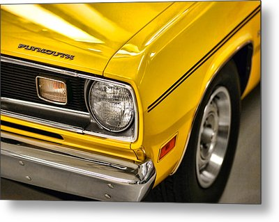 1970 Plymouth Duster 340 Metal Print by Gordon Dean II