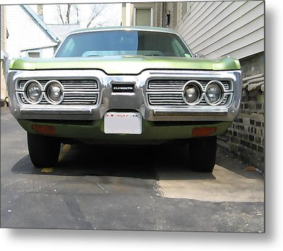 1970s Plymouth Fury Metal Print