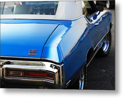 Metal Print featuring the photograph 1971 Buick Gs by Gordon Dean II