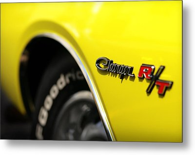 1971 Dodge Charger Rt Metal Print by Gordon Dean II