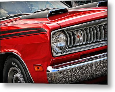 1971 Plymouth Duster 340 Metal Print by Gordon Dean II