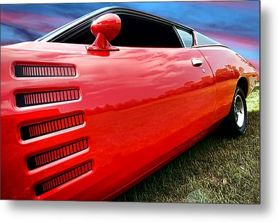 1972 Dodge Charger Magnum 400 Metal Print