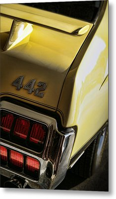 1972 Oldsmobile 442 Metal Print by Gordon Dean II