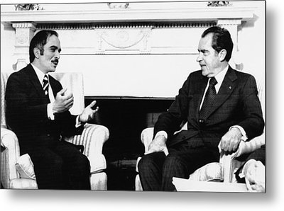 1974 Us Presidency, International Metal Print by Everett