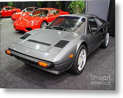 1984 Ferrari 308 Gts Qv . 7d9372 Metal Print by Wingsdomain Art and Photography