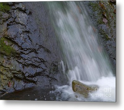 Waterfall Metal Print by Odon Czintos