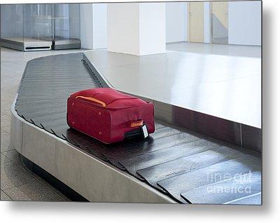 Airport Baggage Claim Metal Print by Jaak Nilson