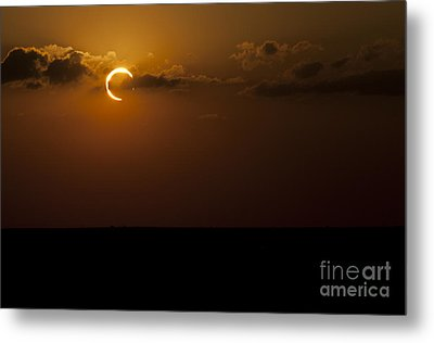 Annular Solar Eclipse Metal Print by Phillip Jones