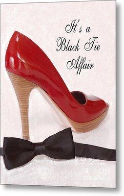Black Tie Affair Metal Print by Anne Kitzman