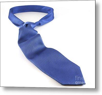 Blue Tie Metal Print by Blink Images