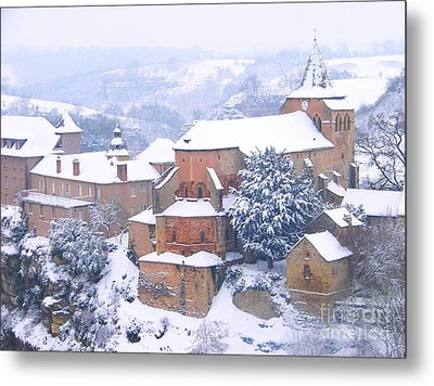 Bozouls Winter Metal Print