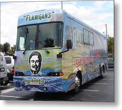 Bus Wrap Metal Print by Carey Chen