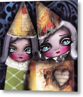 By #abrilandrade Metal Print by  Abril Andrade Griffith