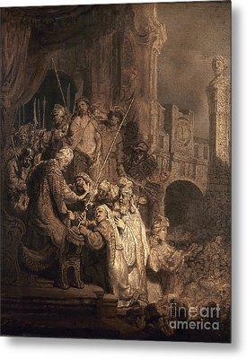 Christ Before Pilate Metal Print by Granger