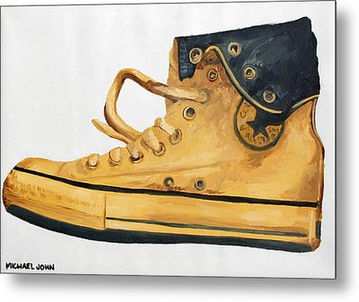 Chucks Metal Print by Michael Ringwalt