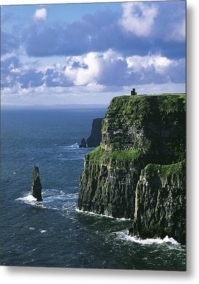 Cliffs Of Moher, Co Clare, Ireland Metal Print by The Irish Image Collection