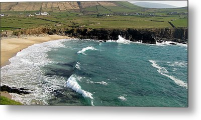 Metal Print featuring the photograph Clogher Beach by Barbara Walsh