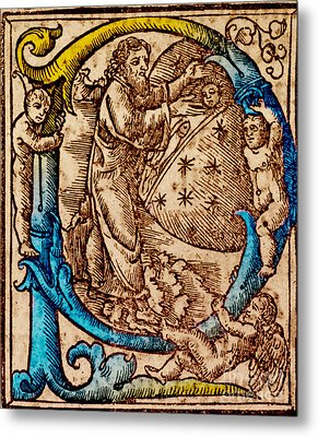 Creation, Giunta Pontificale, 1520 Metal Print by Science Source