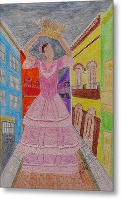 Dancer In Viejo San Juan Metal Print by Jessica Cruz