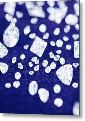Diamonds Metal Print by Lawrence Lawry