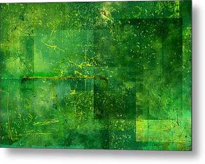Emerald Heart Metal Print by Christopher Gaston