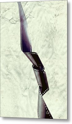 Film Metal Print by HD Connelly