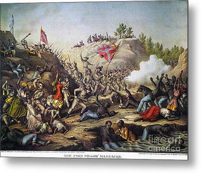 Fort Pillow Massacre, 1864 Metal Print by Granger