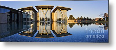 Forth Worth Modern Art Gallery Metal Print by Jeremy Woodhouse