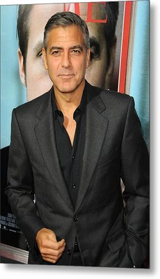 George Clooney At Arrivals For The Ides Metal Print by Everett