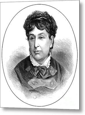 George Sand (1804-1876) Metal Print by Granger