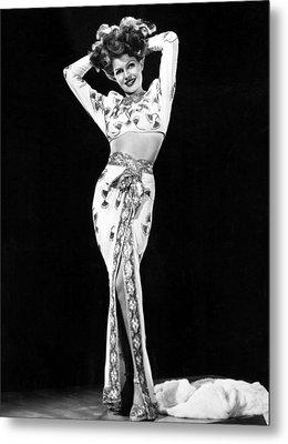 Gilda, Rita Hayworth, 1946 Metal Print by Everett