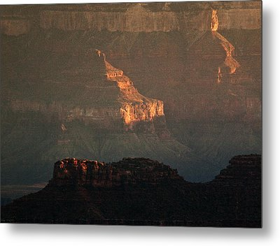 Grand Canyon Metal Print by Aurica Voss