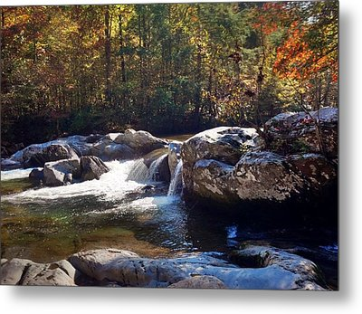 Metal Print featuring the photograph Great Smoky Mountains by Janice Spivey