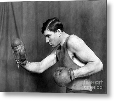 Jess Willard (1883-1968) Metal Print by Granger