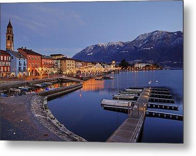Lake Maggiore - Ascona Metal Print by Joana Kruse