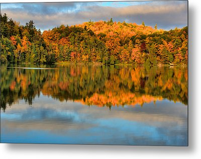 Lake Reflections Metal Print by Andre Faubert