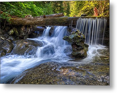 Lower Cascades Of Malachite Creek Metal Print